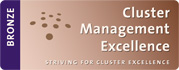 Pie di pagina logo Cluster Management Excellence